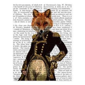 Admiral Fox Full Postcard