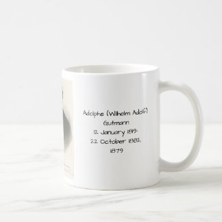 Adolphe (wilhelm Adolf) Gutmann Coffee Mug