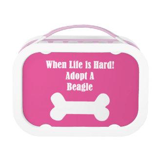 Adopt A Beagle Lunch Box