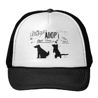 """""""ADOPT. RESCUE. SAVE."""" TRUCKER HAT"""
