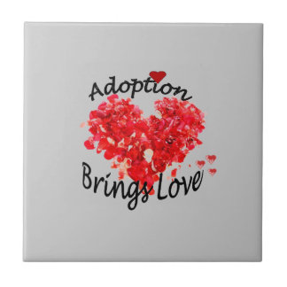 Adoption Brings Love Tile
