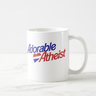 Adorable Atheist Basic White Mug
