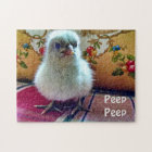 Adorable Baby Chick Jigsaw Puzzle