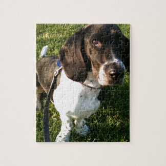 Adorable Basset Hound Snoopy Jigsaw Puzzle