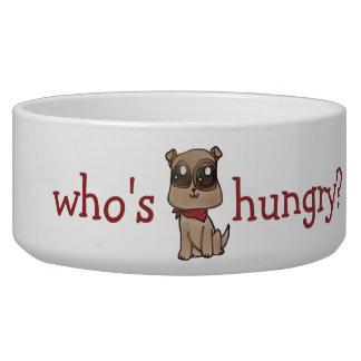 Adorable Bulldog Puppy Dish Pet Bowls