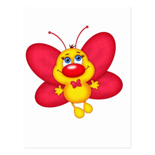 adorable butterfly postcards