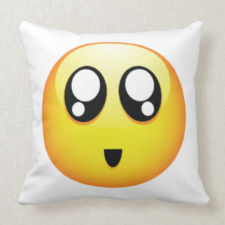 Adorable Emoticon Cushion