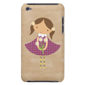 Adorable Girly Country Doll iPod Touch Case