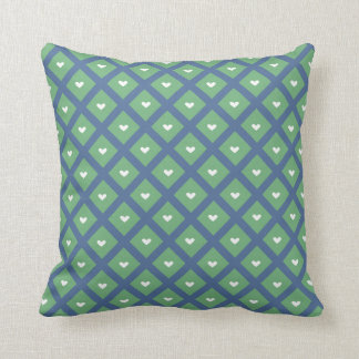 Adorable Heart Patterned Pillow Cushion