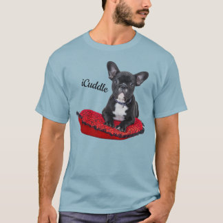 Adorable iCuddle French Bulldog T-Shirt