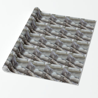Adorable Otter Wrapping Paper