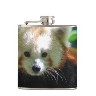 Adorable Red Panda Hip Flask