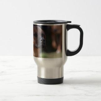 Adorable Rhodesian Ridgeback Stainless Steel Travel Mug