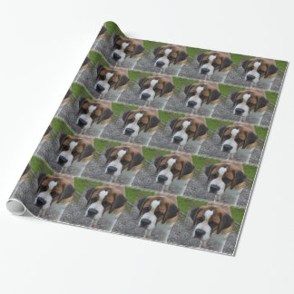 Adorable St Bernard Wrapping Paper