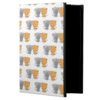 Adorable Whimsical Kittens Orange and Grey Cover For iPad Air