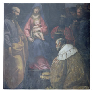 Adoration of the Magi, 1629 (oil on canvas) Tile