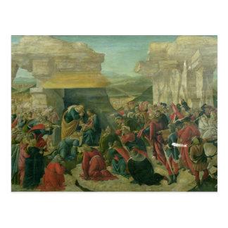 Adoration of the Magi, c.1480 (tempera on panel) ( Postcard