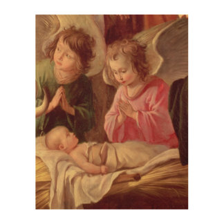 Adoration of the Shepherds Wood Wall Decor