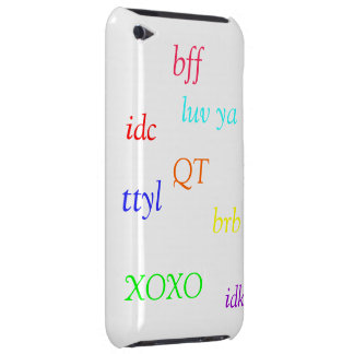 adorible iPod touch Case-Mate case
