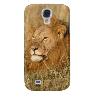 Adult male Lion at first light Galaxy S4 Case
