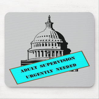 Adult Supervision mousepad