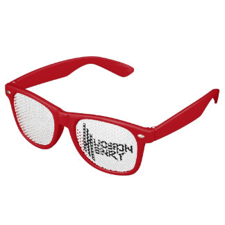 Adult Wayfarer Party Shades, Red