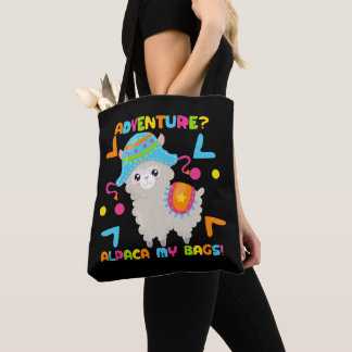 Adventure Alpaca My Bags Humour