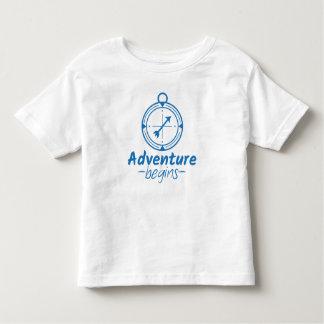 Adventure Begins Toddler T-Shirt