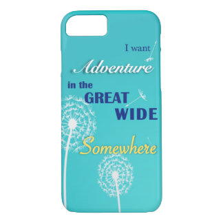 Adventure in the great, wide somewhere iPhone 8/7 case