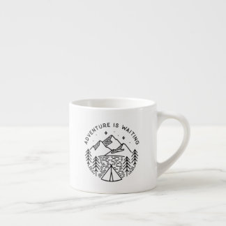 Adventure is Waiting Espresso Cup