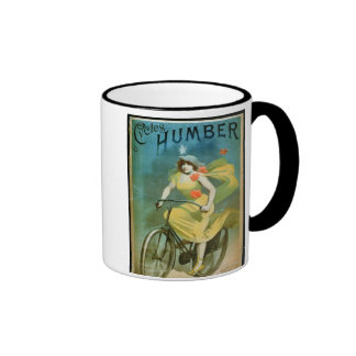 Advertising for 'Humber Cycles' (colour litho) Coffee Mug