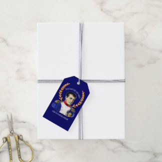 Advice from Napoleon Bonaparte - Great Quotation Gift Tags