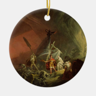 Aeneas and the Sibyl, c.1800 (oil on canvas) Christmas Ornament