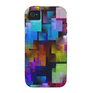 Aerial View in Color Vibe iPhone 4 Cases