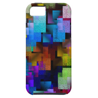 Aerial View in Color iPhone 5 Cases