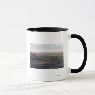 Aerial View of Boston Ranch in San Diego County Mug