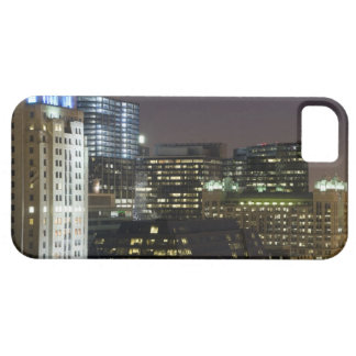 Aerial view of buildings in the Chicago Loop at iPhone 5 Covers