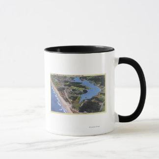 Aerial View of Devil's Lake Mug