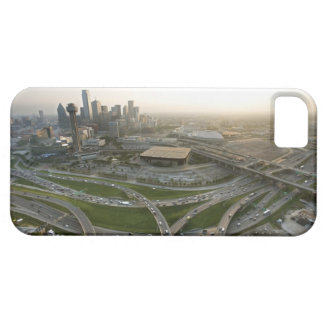 Aerial view of downtown Dallas, Texas iPhone 5 Case