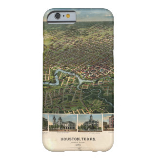 Aerial View of Houston, Texas (1891) Barely There iPhone 6 Case