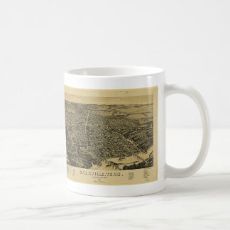 Aerial View Of Knoxville Tennessee from 1886 Coffee Mug
