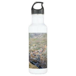 Aerial view of Mar Saba Monastery 710 Ml Water Bottle
