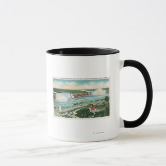 Aerial View of Oakes Garden Theatre and Falls Mug