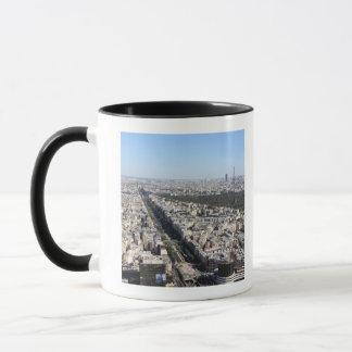 aerial view of PARIS 3 Mug