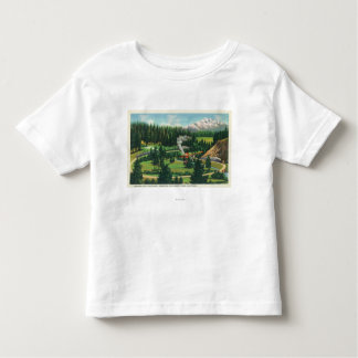 Aerial View of the Cantara Loop, Sacramento Toddler T-Shirt