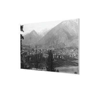 Aerial View of the City 5 Canvas Print