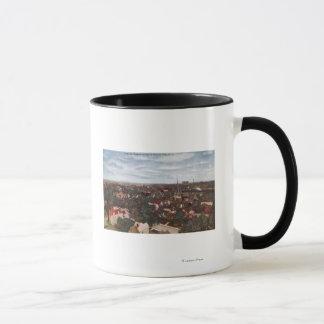 Aerial View of the City Mug