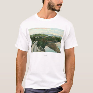 Aerial View of the San Lorenzo River T-Shirt