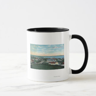 Aerial View of the Town 2 Mug