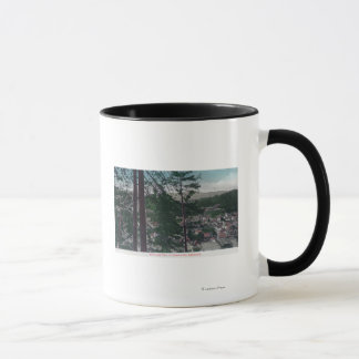 Aerial View of the TownGuerneville, CA Mug